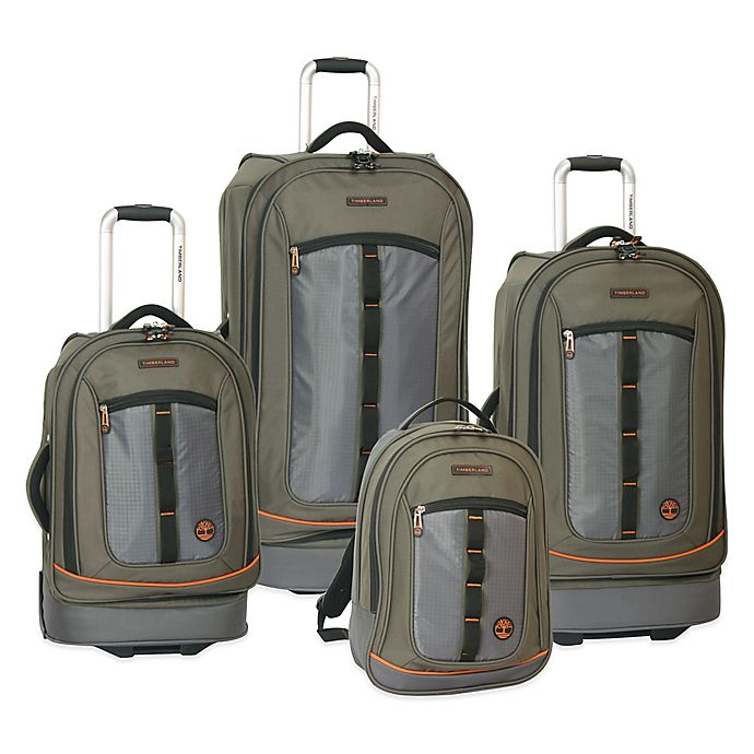 85a3903a26f Timberland® Jay Peak 4-Piece Luggage Set | Bed Bath & Beyond