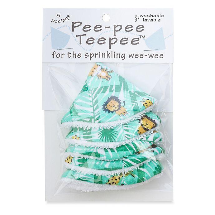 Alternate image 1 for beba bean 5-Pack Pee-Pee Teepee™ in Jungle