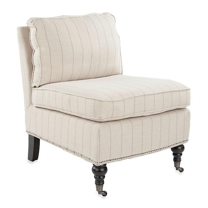 Alternate image 1 for Safavieh Randy Slipper Chair in Beige
