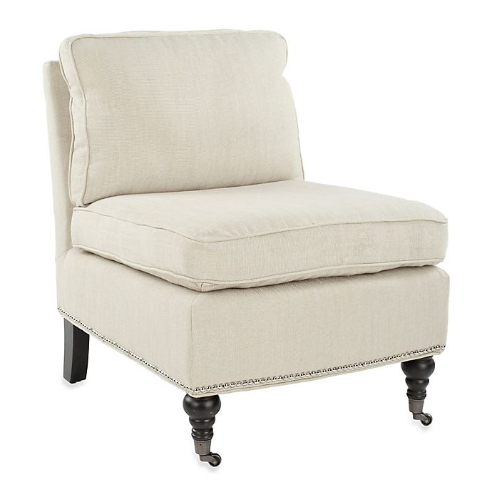 Safavieh Randy Slipper Chair in Grey | Bed Bath & Beyond