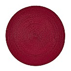 Indoor/Outdoor 15-Inch Round Placemat in Apple