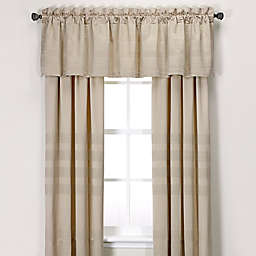 Wamsutta® Joliet Window Curtain Panel and Valance in Caramel