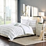 Part of the Intelligent Design Waterfall Reversible Comforter Set in White