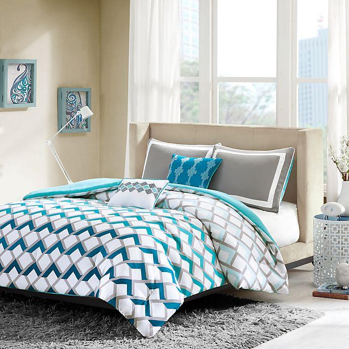 Alternate image 1 for Intelligent Design Finn Comforter Set in Blue