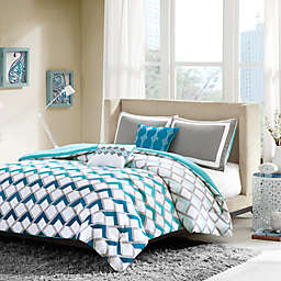 Intelligent Design Finn Comforter Set in Blue