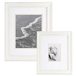 Real Simple® Portrait Wall Frame in Distressed White