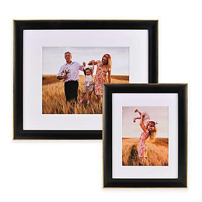 PhotoGuard Wood Wall Frame in Satin Black