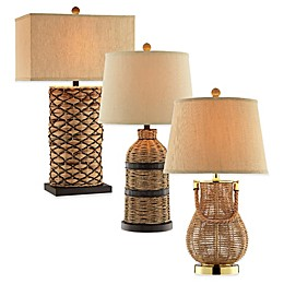 Panama Jack® Seagrass Accent Table Lamp