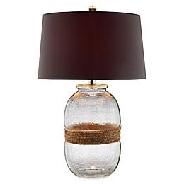 Panama Jack® Hammered Glass Table Lamp