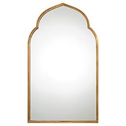 Uttermost Kenitra Arch Large Mirror in Gold