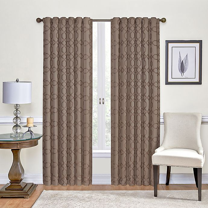 Vue Signature Premier Room Darkening, Bed Bath And Beyond Living Room Curtains