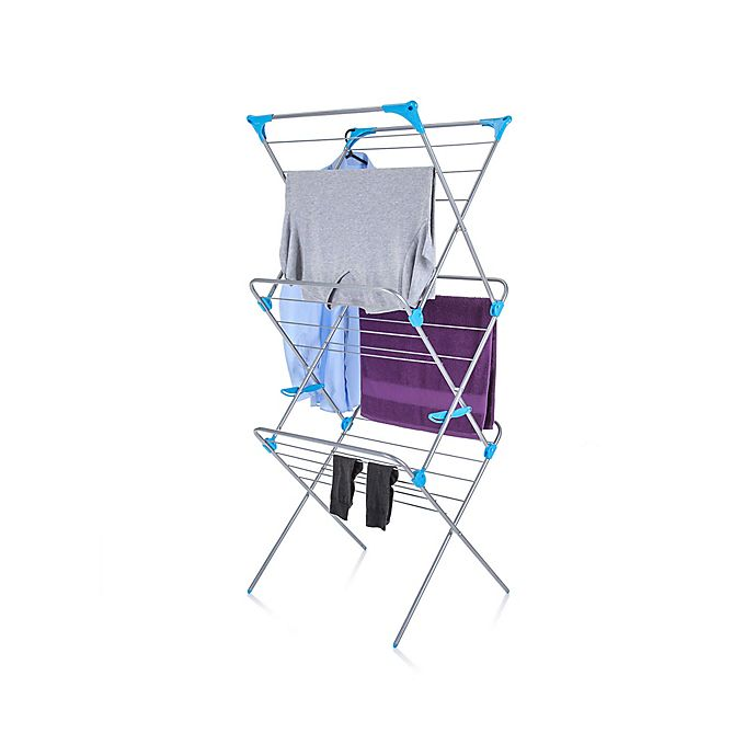 Alternate image 1 for Minky Homecare 3-Tier Indoor Drying Rack