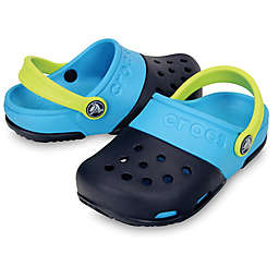 Crocs™ Kids' Electro II Clog in Navy/Electric Blue