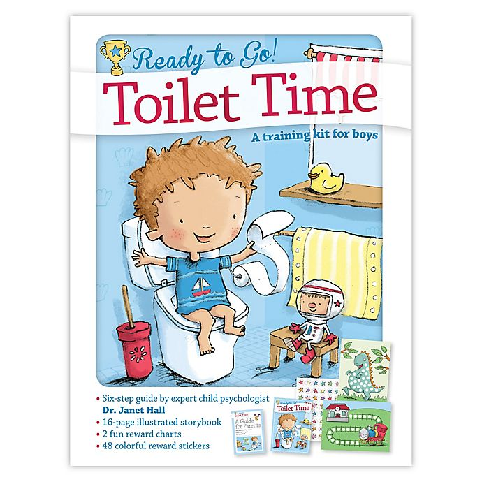 Alternate image 1 for Ready to Go Toilet Time Potty: A Training Kit for Boys by Dr. Janet Hall