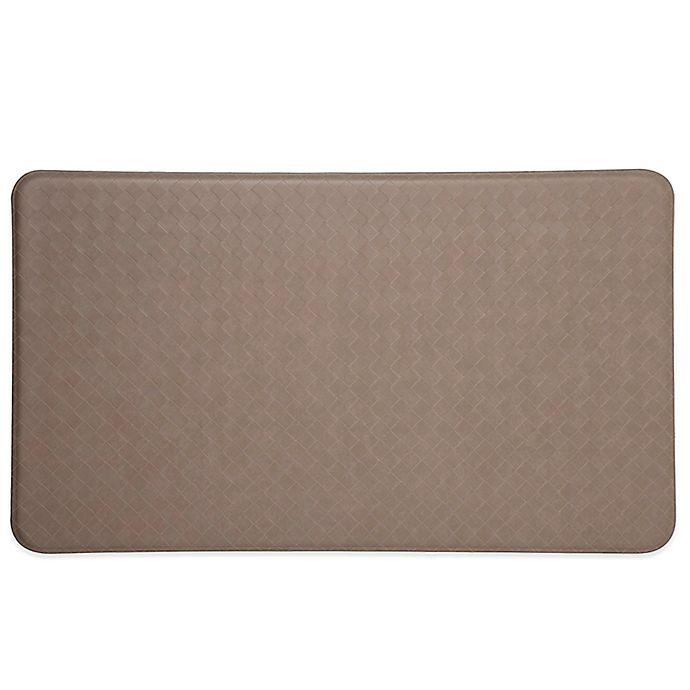 Imprint 174 Nantucket Anti Fatigue Comfort Mat In Mocha Bed