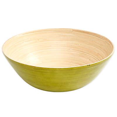 Gibson Overseas Bamboo Bowl in Green