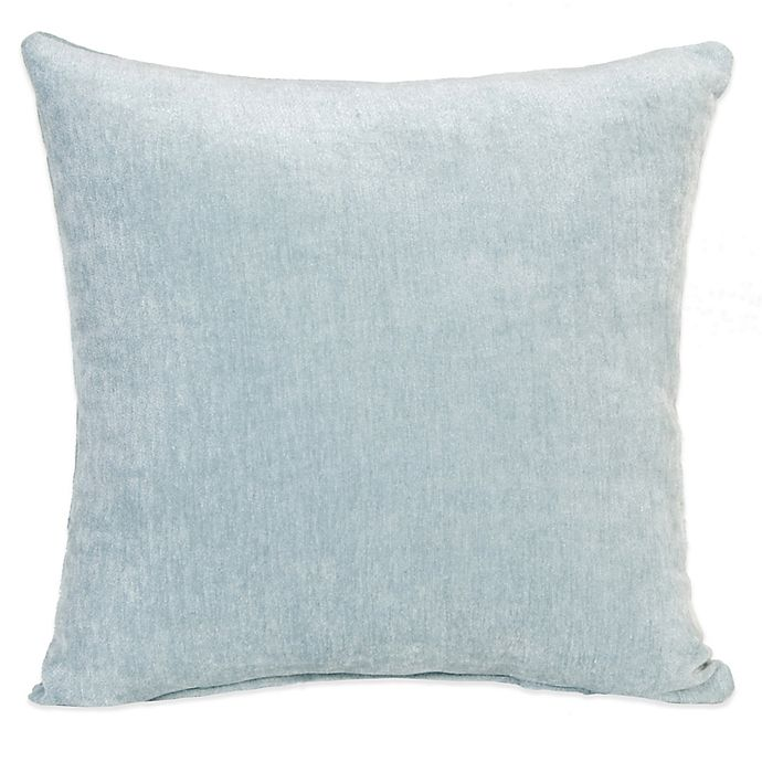Alternate image 1 for Glenna Jean Central Park Velvet Throw Pillow in Blue