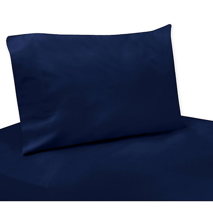 Alternate image 1 for Sweet Jojo Designs Sheet Set in Solid Navy