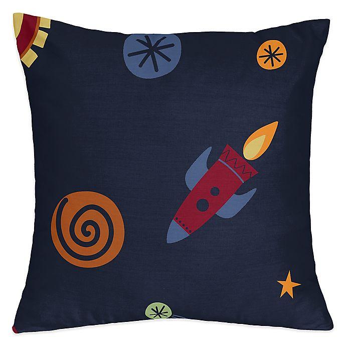 Alternate image 1 for Sweet Jojo Designs® Space Galaxy Throw Pillow