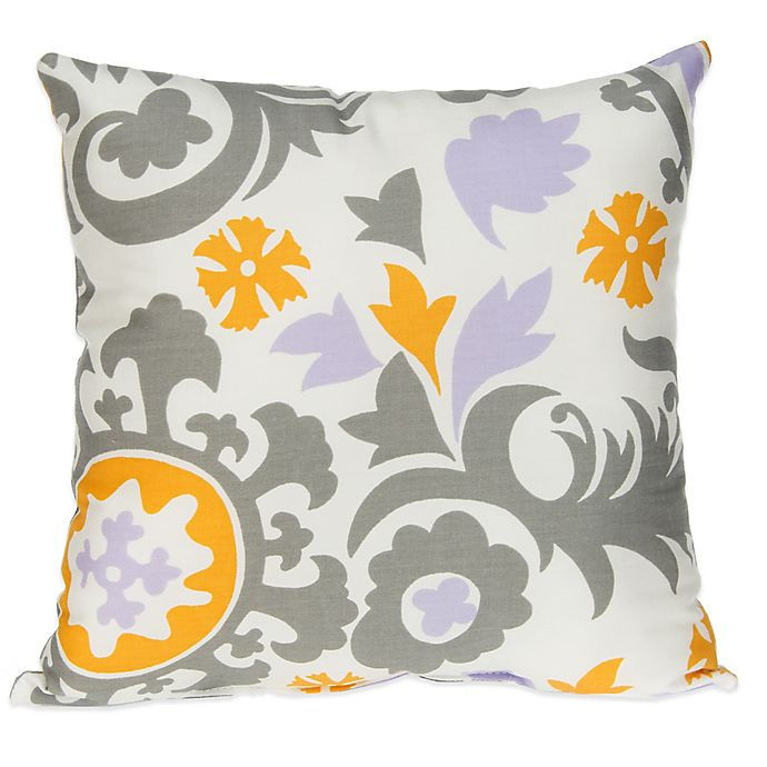 Alternate image 1 for Glenna Jean Fiona Suzani Square Throw Pillow
