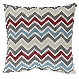 Glenna Jean Happy Trails Chevron Throw Pillow