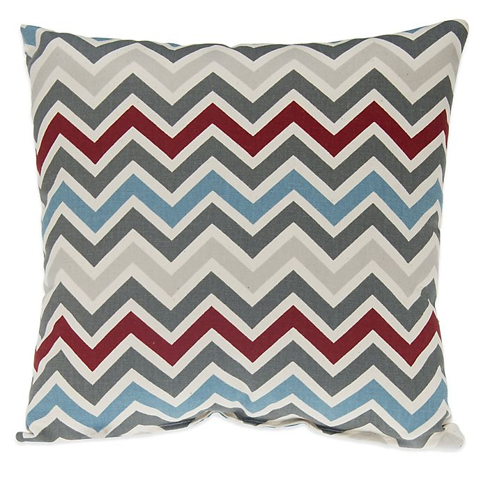 Alternate image 1 for Glenna Jean Happy Trails Chevron Throw Pillow