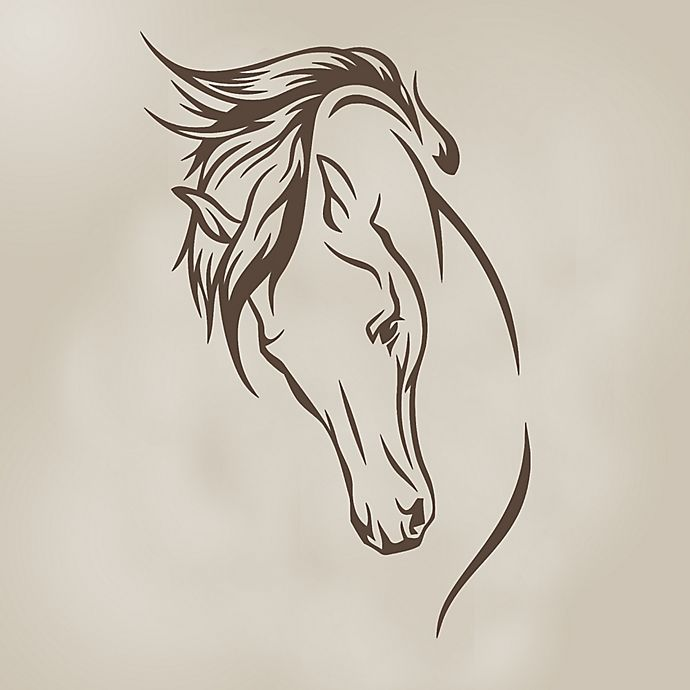 Alternate image 1 for Glenna Jean Happy Trails Stallion Wall Decal