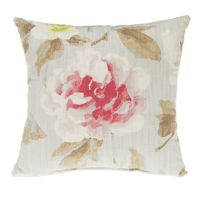 Alternate image 1 for Glenna Jean Harper Floral Throw Pillow