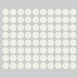 Glenna Jean Harper 70-Count Dot Wall Decals in Grey