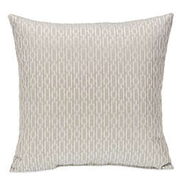 Glenna Jean Heaven Sent Chain Print Throw Pillow in Grey