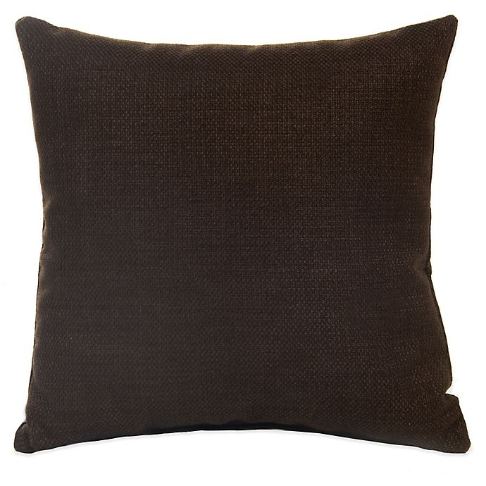 Alternate image 1 for Glenna Jean Liam Throw Pillow in Chocolate