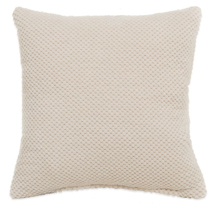 Alternate image 1 for Glenna Jean Liam Throw Pillow in Cream