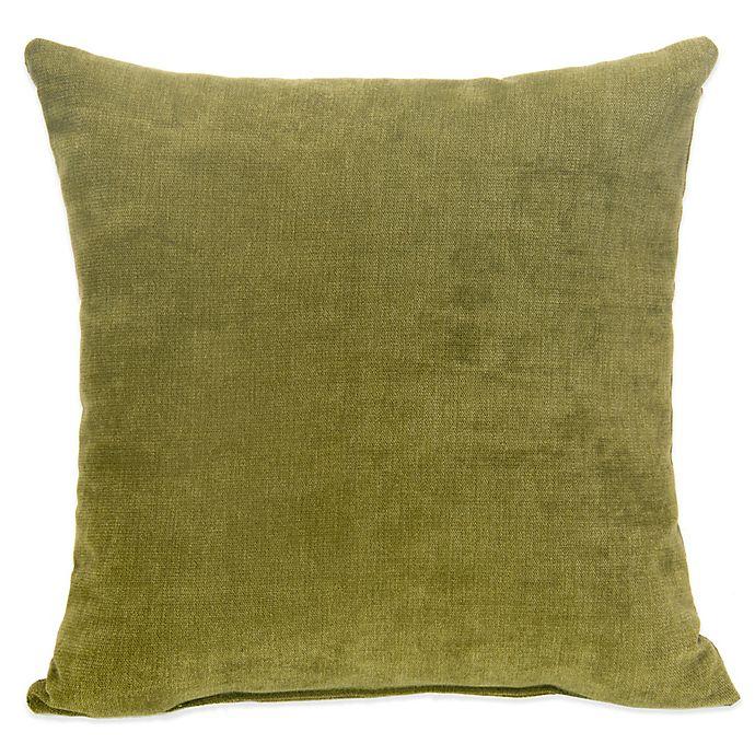 Alternate image 1 for Glenna Jean Liam Square Throw Pillow in Avocado