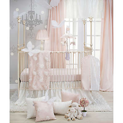 Glenna Jean Lil Princess Crib Bedding Collection in Cream/Pink