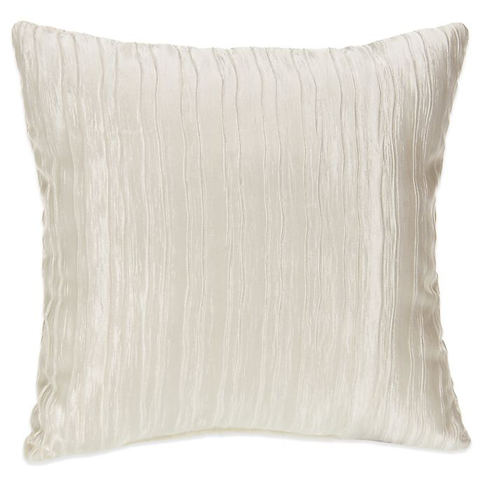 Alternate image 1 for Glenna Jean Lil Princess Square Throw Pillow in Creamy Crinkle