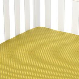 Glenna Jean Urban Cowboy Fitted Crib Sheet in Avocado
