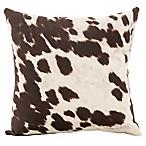 Glenna Jean Urban Cowboy Cowhide Throw Pillow