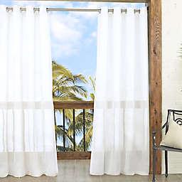 Parasol Summerland Key 84-Inch Sheer Indoor/Outdoor Window Curtain Panel