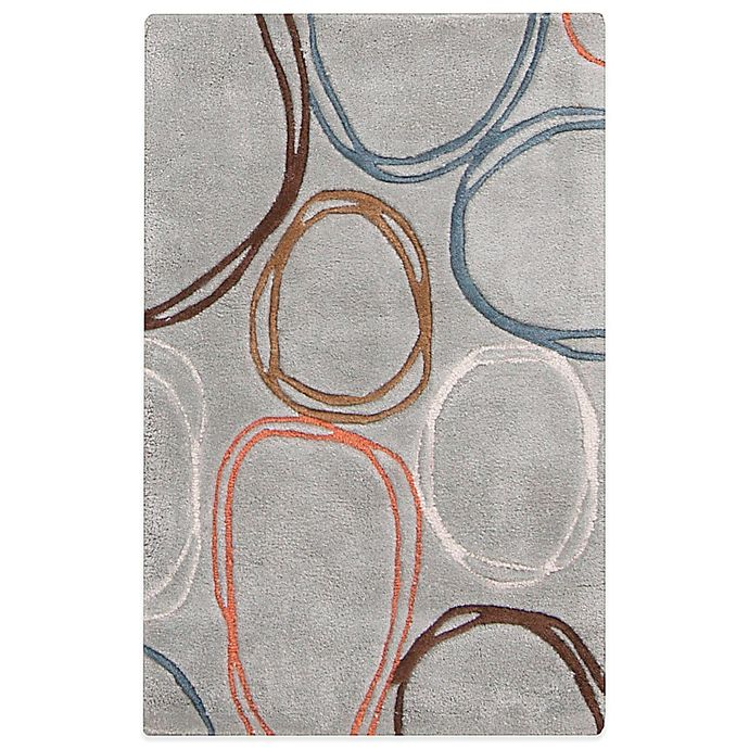 Alternate image 1 for Surya Alzey 2-Foot x 3-Foot Area Rug in Ivory