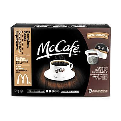 12-Count McCafé® Premium Roast Coffee for Single Serve Coffee Makers