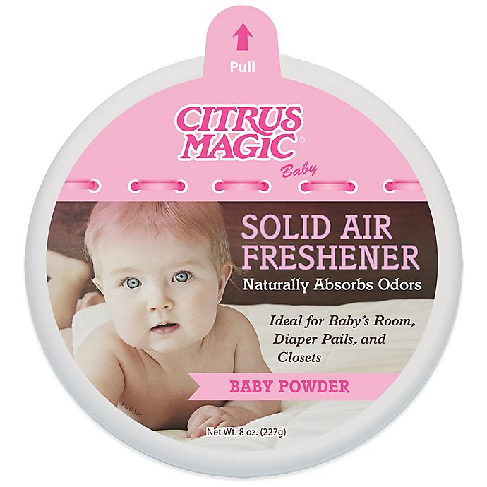 Bed Bath And Beyond Beaumont: Citrus Magic® Baby 8 Oz. Baby Powder Solid Air Freshener