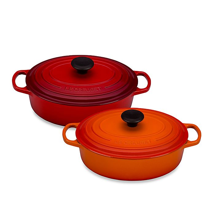 Le Creuset Signature 35 Qt Wide Oval French Oven Bed Bath Beyond