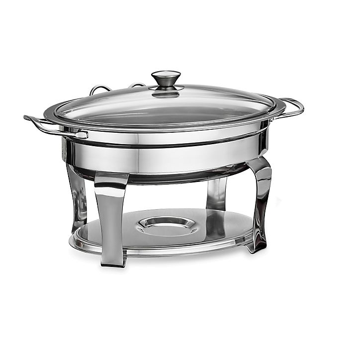 Alternate image 1 for Tramontina® Stainless Steel 4.2 qt. Chafing Dish