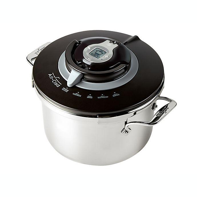 Alternate image 1 for All-Clad PC8 Precision Pressure Cooker