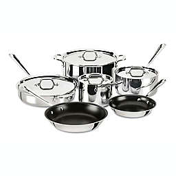 All-Clad D3 Stainless Steel Nonstick 10-Piece Cookware Set