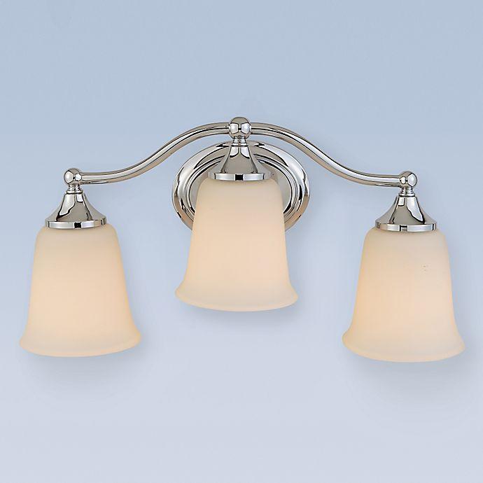 Alternate image 1 for Feiss® Claridge Wall-Mount 3-Light Vanity Light in Chrome