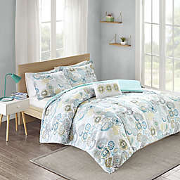 Mizone Tamil Reversible Comforter Set in Multi