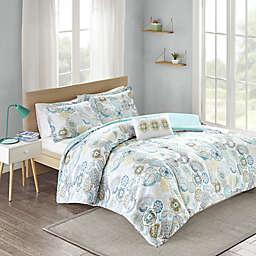 Mi Zone Tamil Reversible Twin/Twin XL Comforter Set