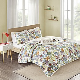 Mi Zone Multi Tamil Twin/Twin XL Coverlet Set