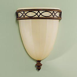 Sea Gull Collection by Generation Lighting Drawing Room 12.25 Inch Wall Sconce in Walnut
